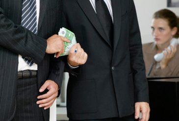 Corruptie en steekpenningen